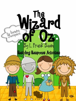 Wizard of Oz: Reading Response Activities