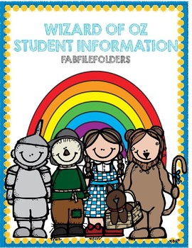 Wizard of Oz Student Information