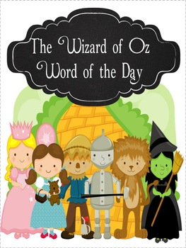 Wizard of Oz Word of the Day