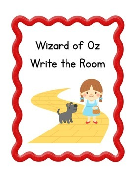Wizard of Oz Write the Room