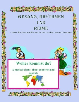 German Musical Chant About Countries, Capitals, Nationalit