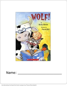 Wolf! Literature unit for 3rd grade