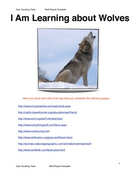Wolf Research Report Template