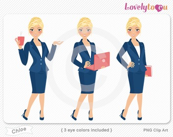 Woman graphics character pack set PNG clip art (Chloe R10)