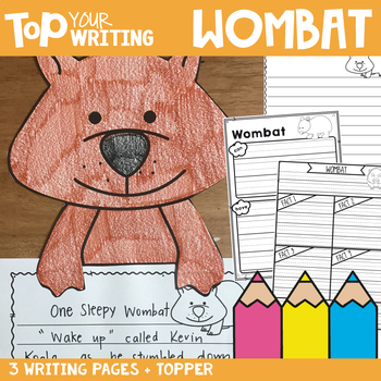 Wombat Writing with Topper