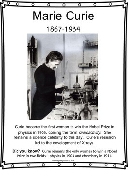 Women in STEM Poster Collection