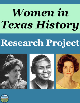 Women in Texas History Research Project