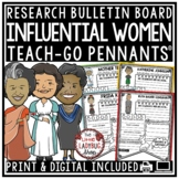 Women's History Month Research Project & Rubric & Influent