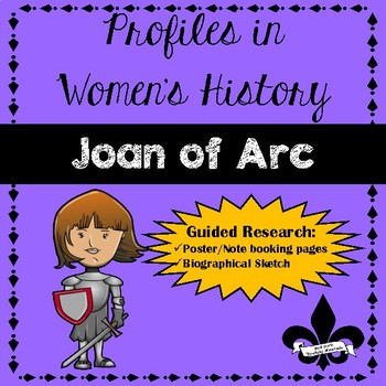 Women's History Guided Research Activity: Joan of Arc