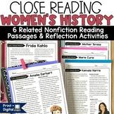 Women's History Biographies
