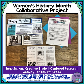 Women's History Month Collaborative Project