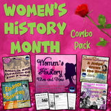 Women's History Then & Now Interactive Notebook with Test