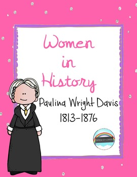 Women's History Month Close Read and Writing: Paulina Wrig
