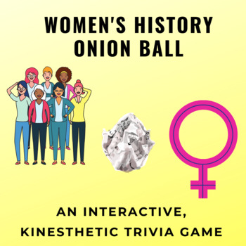 Women's History Month Quiz Bowl Trivia Game - 15 questions & key