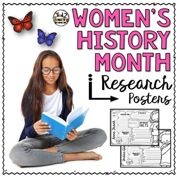 Women's History Month Research Posters