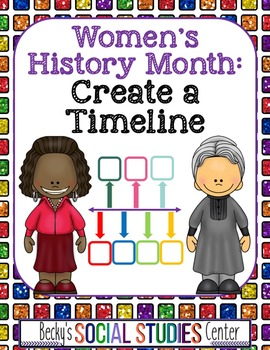 Women's History Month for Middle School: Timeline of a His