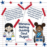 Women's History Trading Card Project
