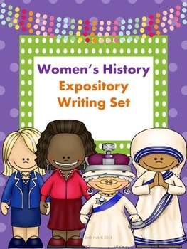 Women's History Expository Writing Set