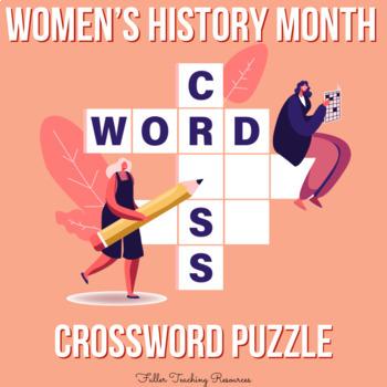 Women's History Month Crossword Puzzle