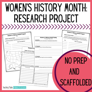 Women's History Month Research Project - Essay, Map, and Timeline