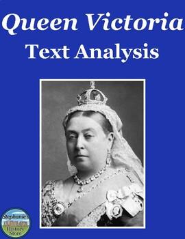 Queen Victoria Primary Source Analysis