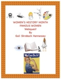 Women's History Month-Webquest