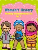Women's History Reading Comprehension Set 2