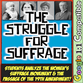 Women's Suffrage: The Struggle for Suffrage from Seneca Fa