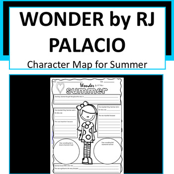 Wonder - Summer Character Map