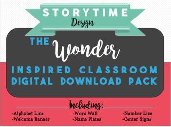 Wonder Inspired Classroom Decor Pack
