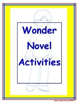 Wonder Novel Activities