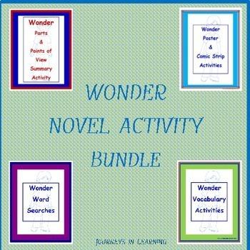 Wonder Novel Activity Bundle