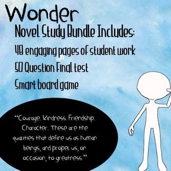 Wonder Novel Study Bundle