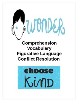Wonder by R.J. Palacio Extensions - Vocab, Comp., Figurati