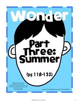 Wonder Part Three: Summer