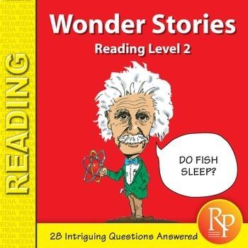 Wonder Stories: Reading Level 2