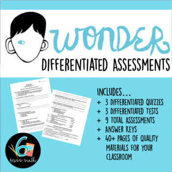 Wonder Tests - Editable!