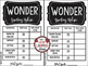 Wonder by: R.J. Palacio • Wonder Novel Study