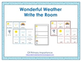 Wonderful Weather Write the Room