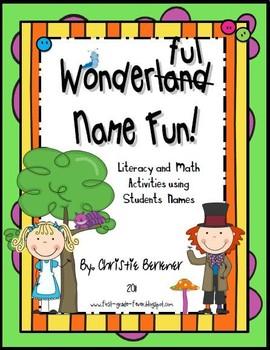 Wonderland Name Fun!