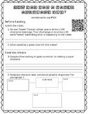 """Informational Text Dependent Question Practice """"Flying Pap"""