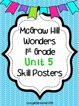 Wonders 1st Grade Unit 5 Posters