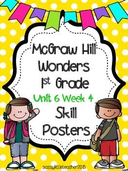 Wonders 1st Grade Unit 6 Week 4 Posters