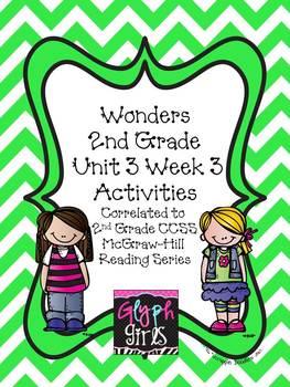 Wonders 2nd Grade Unit 3 Activities Week 3