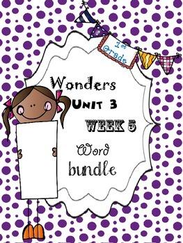 Wonders 3.5 Word Bundle