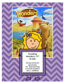 Wonders 3rd Grade Leveled Rdr ?s - Approaching Level (Unit