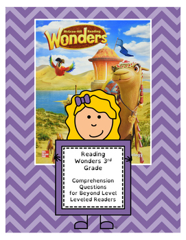 Wonders 3rd Grade Leveled Reader ?s - Beyond Level (all 6