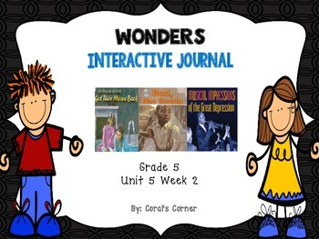 Wonders 5th Grade Interactive Journal Unit 5-Week 2