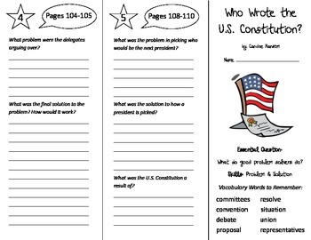 Wonders 5th Grade Unit 2 Trifolds Bundle
