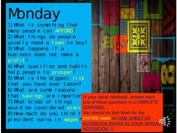 Wonders, 5th grade Reading Unit 1, Week 1 Vocabulary Build